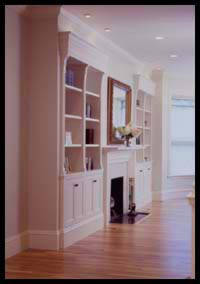 Bookcases of Maple and Poplar